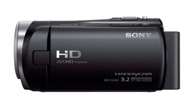 Kamera Sony HDR-CX450B z regulacją mikrofonu