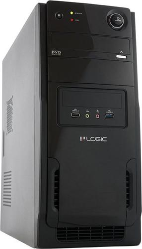 Logic Concept A11 Midi Tower z zasilaczem LOGIC 600W ATX USB 3.0 (AT-A113-10-LOG600A-0002)