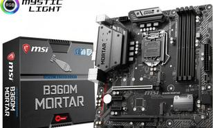 MSI B360M MORTAR S1151 B360 4DDR4 USB3.1/M.2 uATX