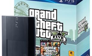 PS3 500GB + GTA V