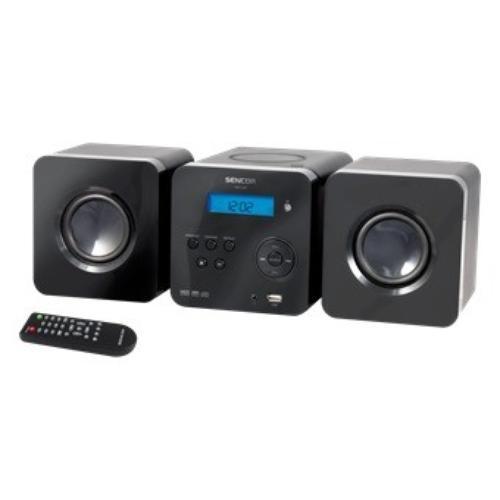 SENCOR Mikrowieża SMC 605 CD/CDR/CDRW/MP3,wejscie USB
