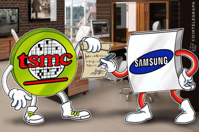 Samsung będzie kopał kryptowaluty