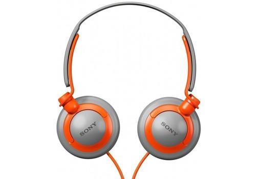 Sony Słuchawki MDR-XB200/DQ Pomarańczowe