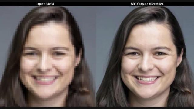 jakość podbijania zdjęć przez Google jest imponująca