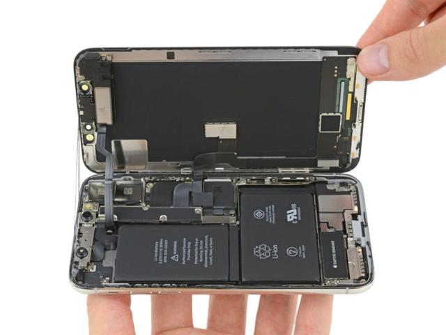 Wnętrze Apple iPhone X