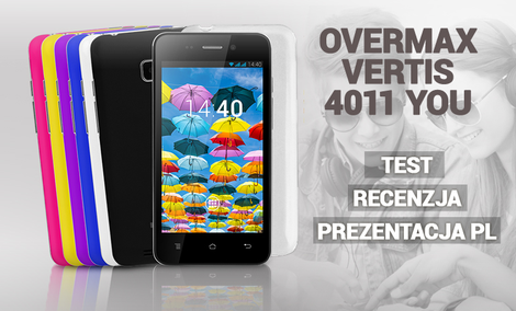 Overmax Vertis 4011 You - Test - Recenzja - Prezentacja PL
