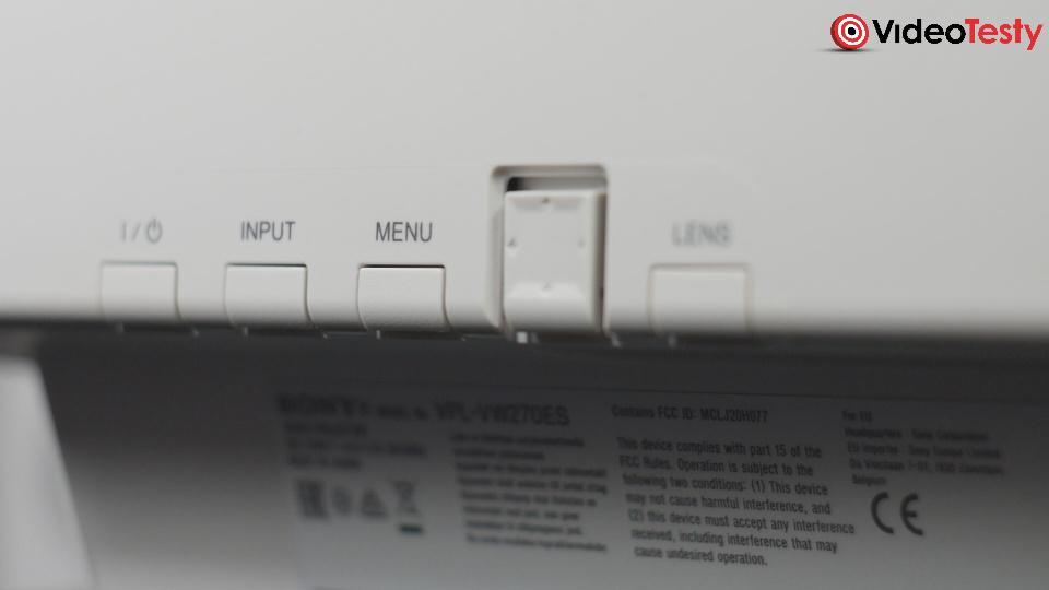SONY VPL-VW270 przyciski