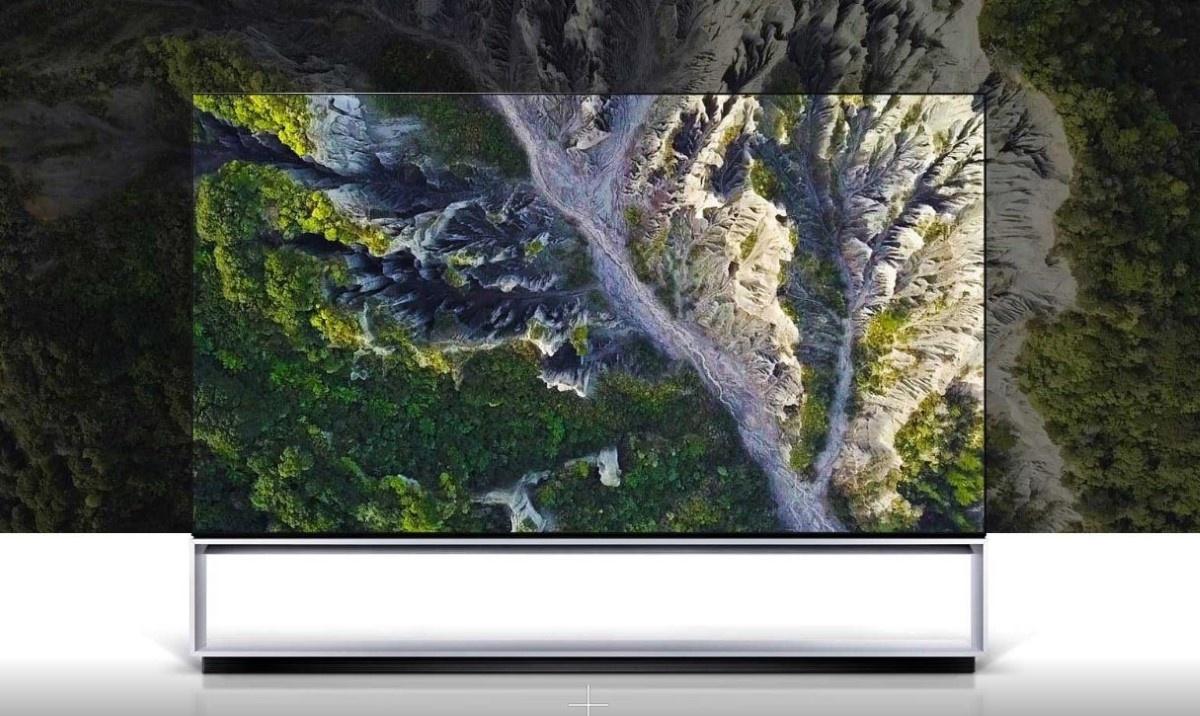 Certyfikowany telewizor 8K od LG