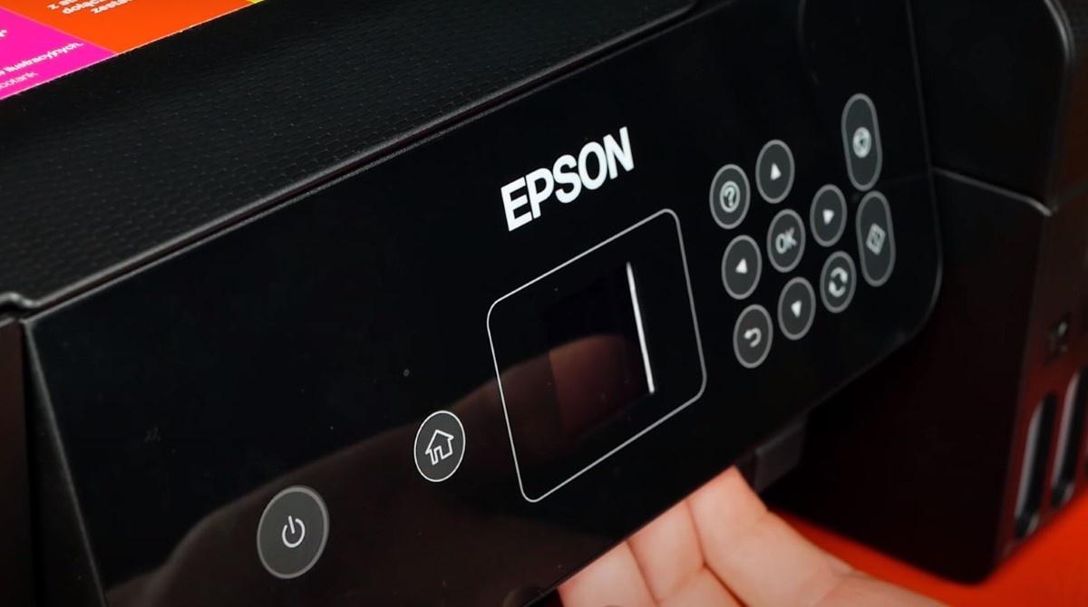 Dodatkowy wyświetlacz w Epson L4160