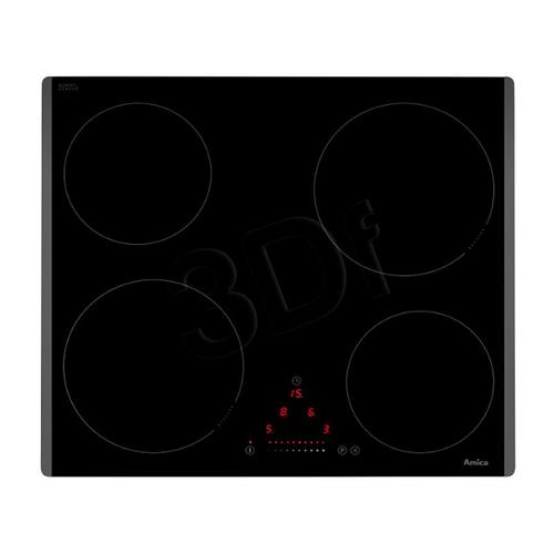AMICA PI 6512 TB ( elektryczna / czarna / 7400W )