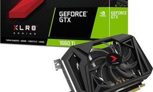 PNY Technologies GeForce GTX 1660 Ti XLR8 Gaming OC, 6GB GDDR6