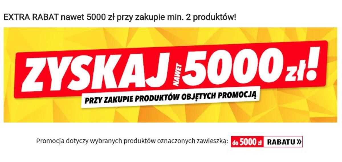 Promocja w Media Expert - Rabat 5000 zł