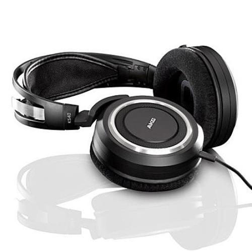 AKG K540 czarne Słuchawki HI-FI