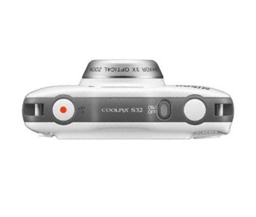 Nikon S32 white + plecak