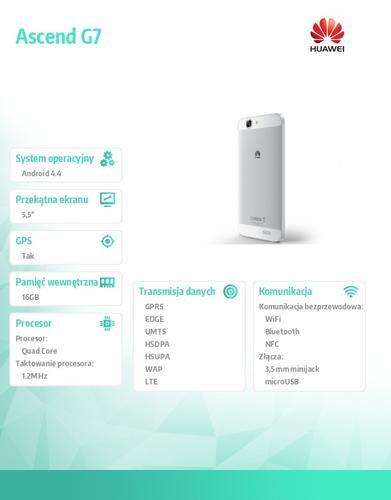 Huawei Ascend G7 White