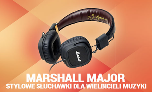 Marshall Major - Stylowe Słuchawki Dla Wielbicieli Muzyki