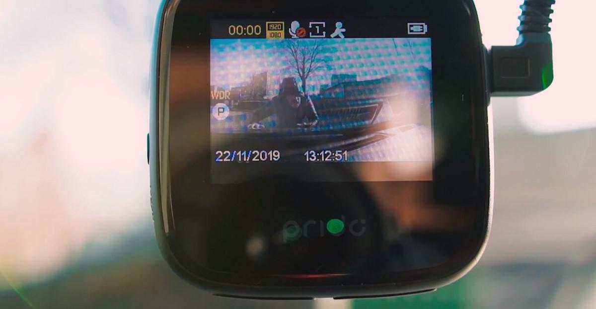 Test czujnika ruchu kamery Prido i5