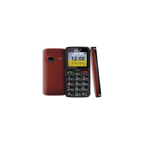 MAXCOM MM432BB Czarno-czerwony