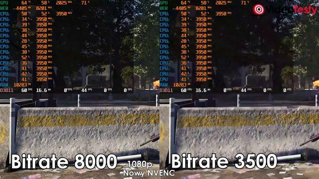NVENC Turing vs NVENC Pascal 3500 bitrate