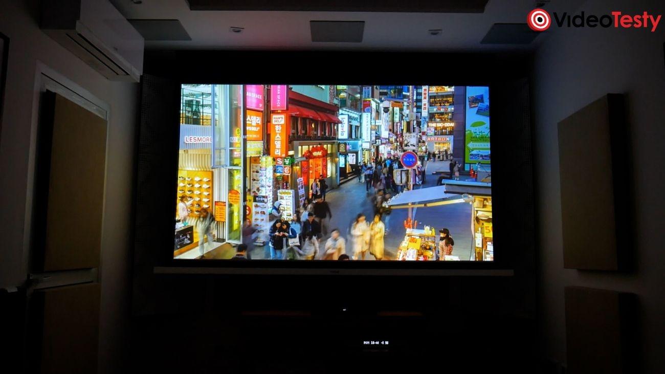 Projektor Sony VPL-VW290ES - test jakości obrazu