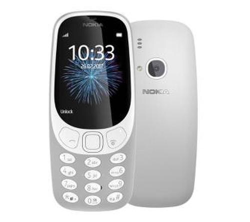 Nokia 3310 Dual Sim (szary)