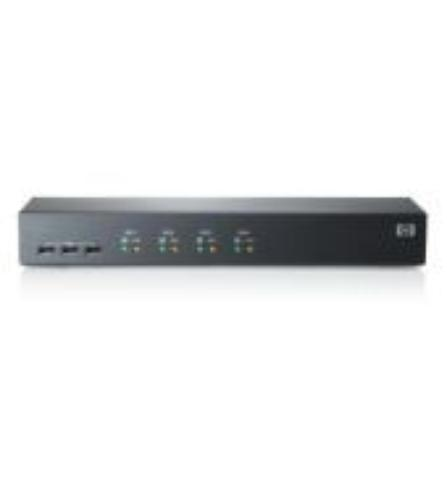 HP KVM SWITCH 1X4 CNSL USB/PS2 AF611A