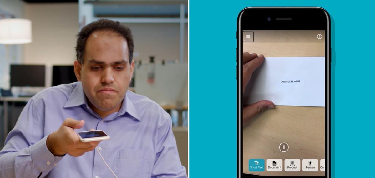 Seeing AI pozwala niewidomym zobaczyć świat przez obiektyw smartfona
