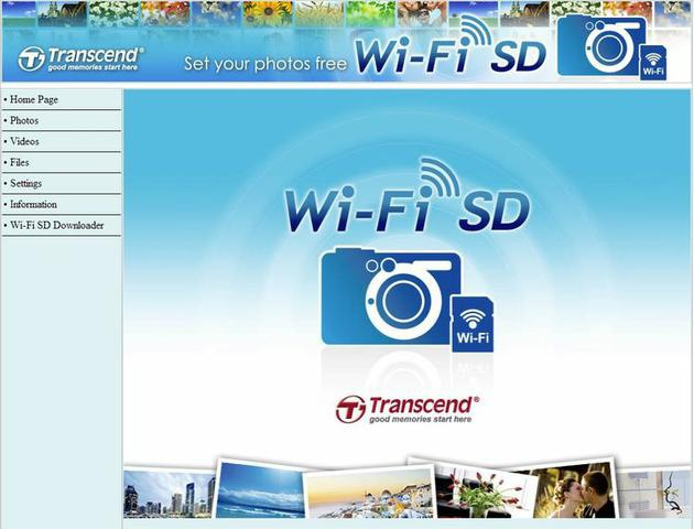 Transcend WiFi SD Card fot20