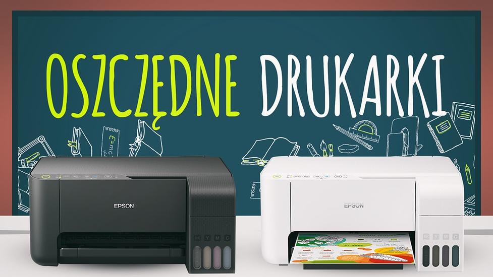 Oszczędne drukarki dla ucznia i studenta