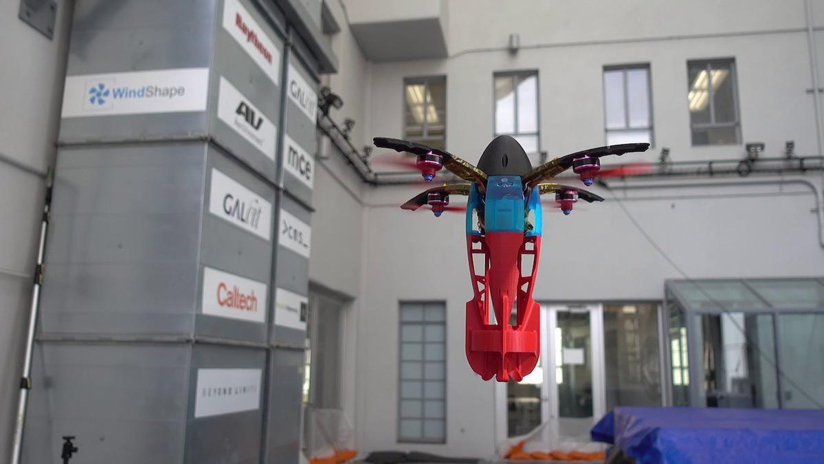 Caltech & NASA JPL stworzyli drona podobnego do pocisku