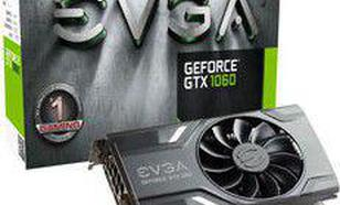 EVGA GeForce GTX 1060 Gaming 6GB GDDR5 (192 Bit) HDMI, DVI, 3x DP, BOX (06G-P4-6161-KR)