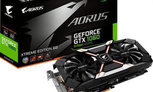 Gigabyte GeForce GTX 1060 Aorus Xtreme 6G, 6GB GDDR5 (192 BIT), DVI-D, HDMI, 3x DP, BOX (GV-N1060AORUS X-6GD)