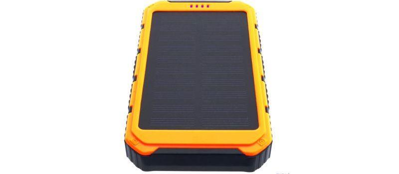 Powerbank wyposażony w panel solarny
