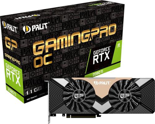 Palit GeForce RTX 2080 Ti GAMING PRO OC 11GB GDDR6 (352 Bit), HDMI,
