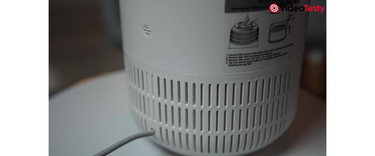 oczyszczacz z biedronki nie ma sensora