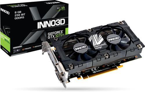 Inno3D Inno3D GeForce GTX 1070 Ti X2 v2, 8GB GDDR5 (256 Bit), HDMI,
