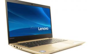 Lenovo Ideapad 520S-14IKB (80X200B1PB) Złoty - 256GB M.2 PCIe + 256GB