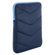 4World Etui z pluszem wertykalne   tablet   270x210x25mm   10.1''   granatowo-błękitne