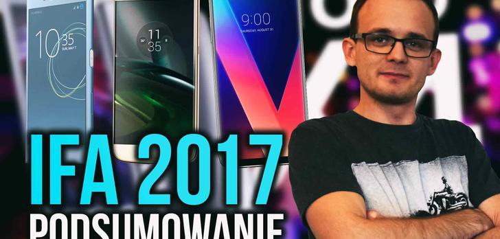 Smartfonowe Podsumowanie IFA 2017