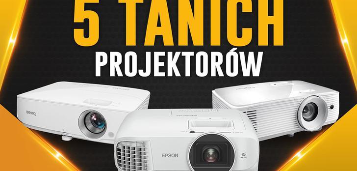 Niedrogie projektory za 2000 zł | TOP 5 |