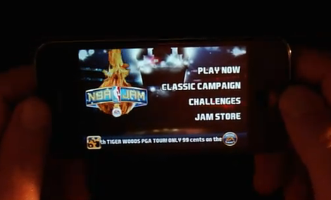 NBA Jam - prezentacja gry na iPhone i iPod