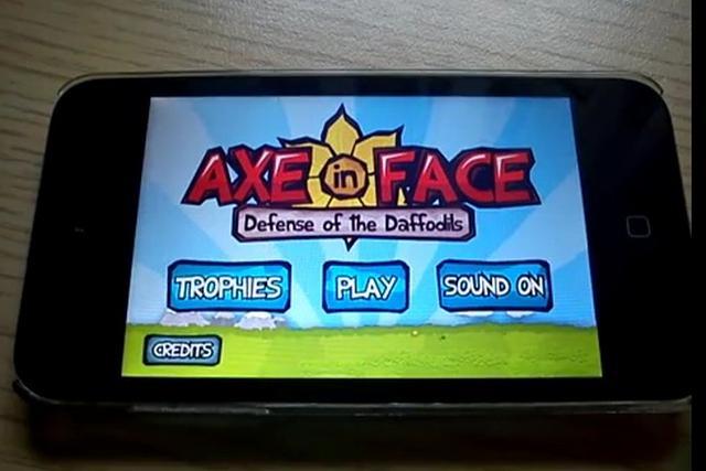 Axe in Face - pokaz gry z AppStore