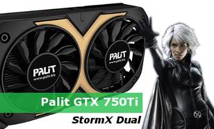 Palit GTX 750Ti StormX Dual - test karty graficznej