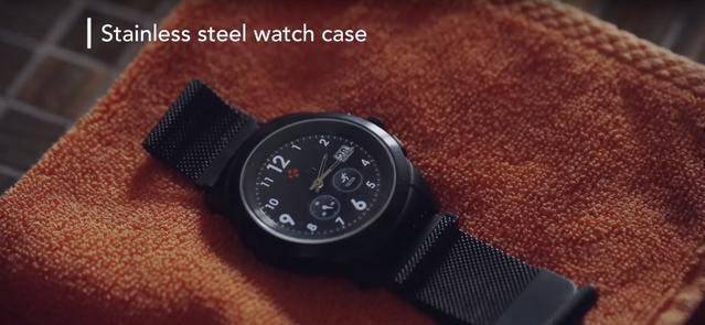 Zegarek posiada wymienne paski oraz tarcze.