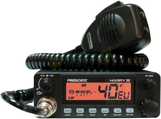 President Harry III - prezentacja funkcjonalnego cb radia