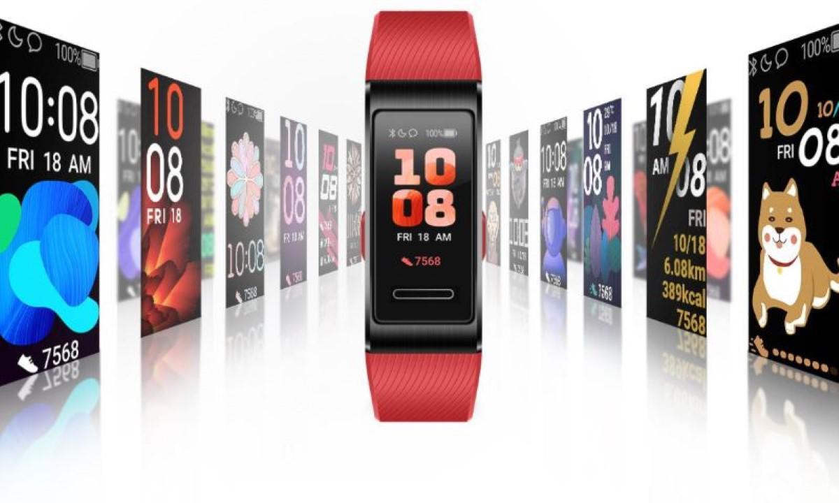 Huawei Band 4 Pro i jego tapety