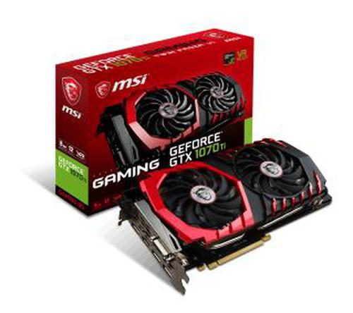 MSI GeForce GTX 1070 Ti GAMING 8GB DDR5 DVI-D/HDMI/3DP