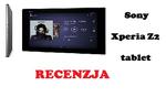 Sony Xperia Z2 - Tablet samurajskim mieczem cięty