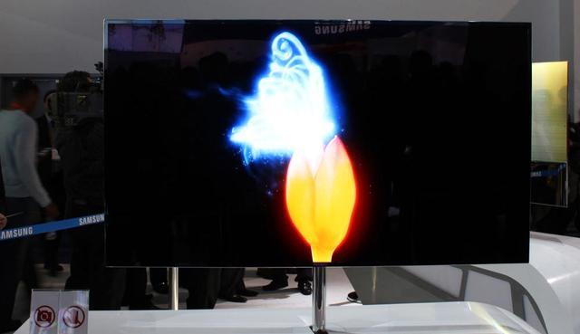 czarujący obraz qled tv