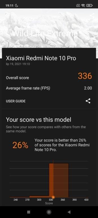 Wild Life Extreme na Redmi Note 10 Pro